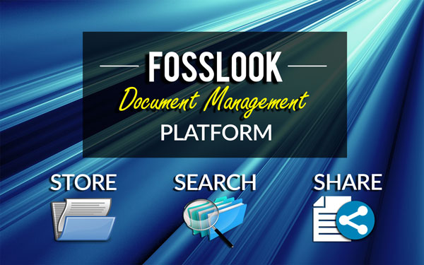 FossLook Electronic Document Management System