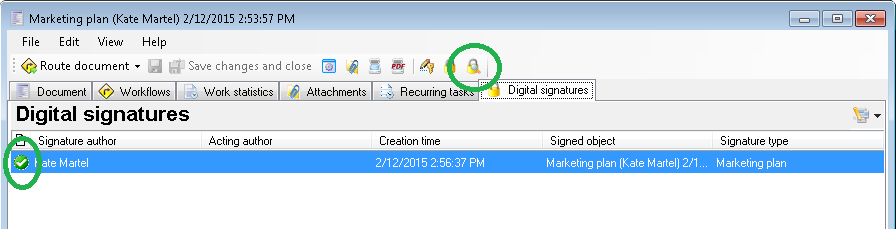 Checking the validity of a digital signature