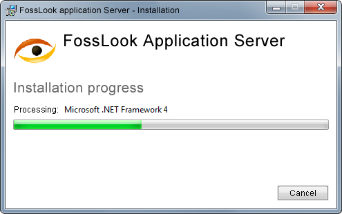 Downloading .NET Framework и SQL Express components