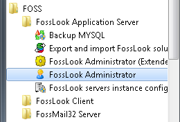 Start Menu - FossLook