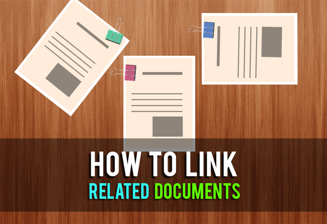 Linking documents in FossLook