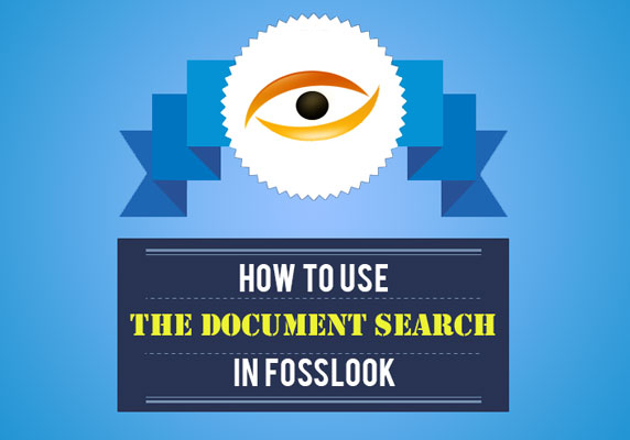 How to search documents in FossLook