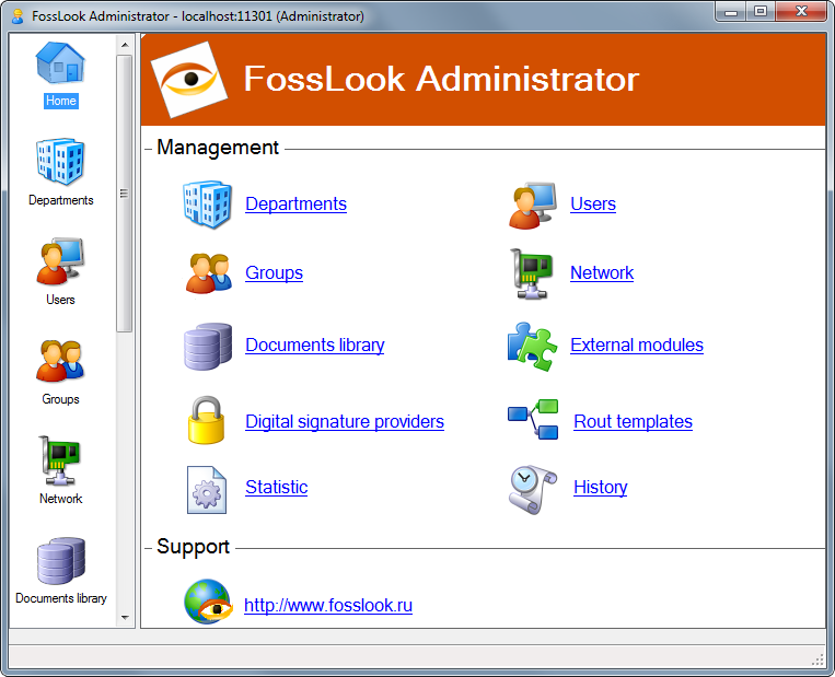 FossLook Quick-Start Guide