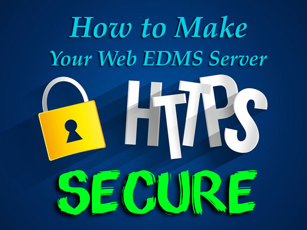 You can secure your FossLook web server with https