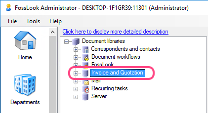 Library in Administrator