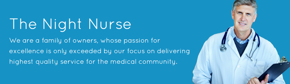 Night Nurse - triage care for medical community