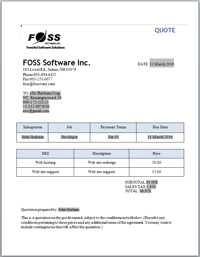 Invoice and Quotation Software for Small Businesses and Entrepreneurs